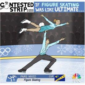 If Figure Skating Was Like Ultimate