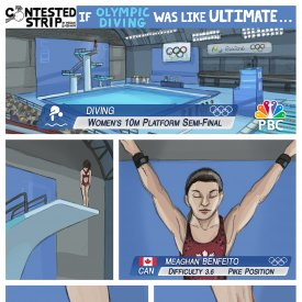If Olympic Diving Was Like Ultimate