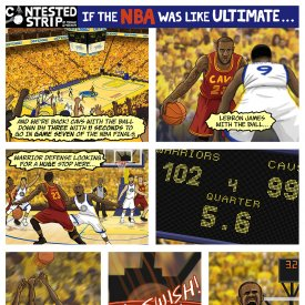 If the NBA was like Ultimate